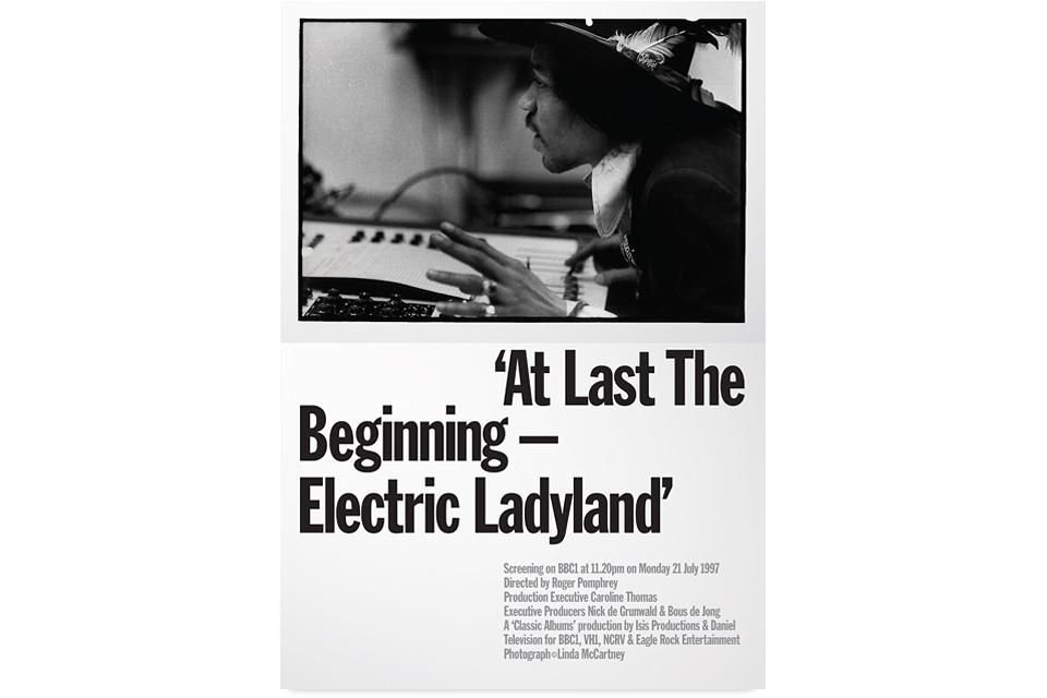 At Last The Beginning, Electric Ladyland, Jimi Hendrix, Roger Pomphrey