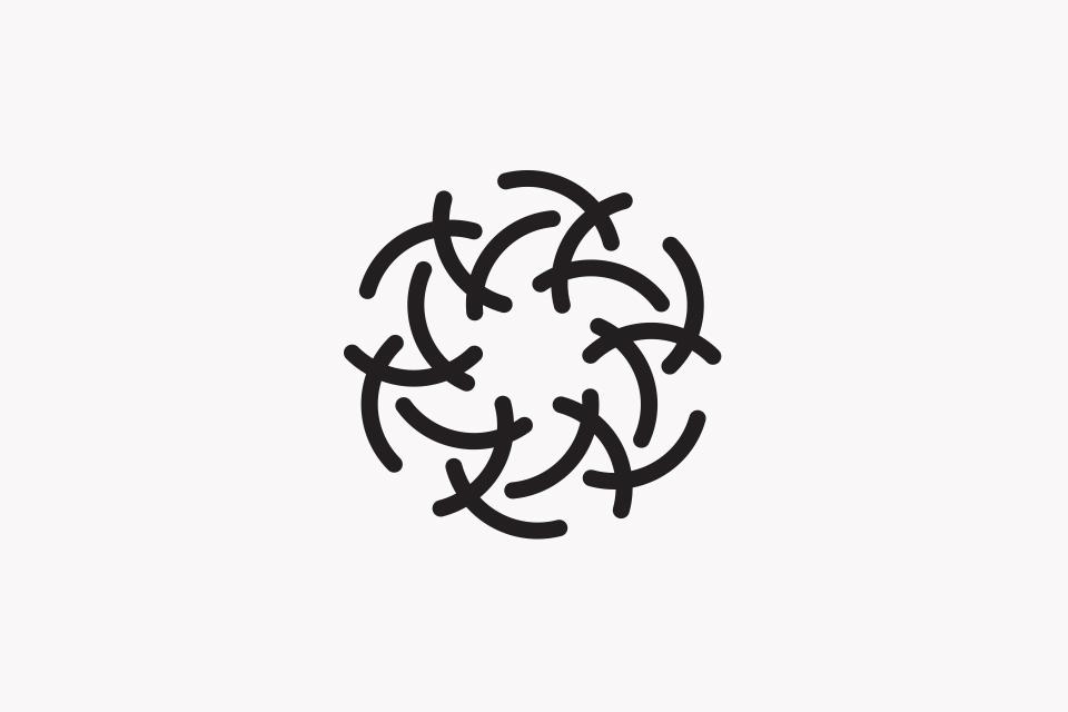 Pure World Energy Identity, Logo, Branding