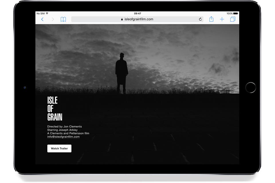 Isle Of Grain website