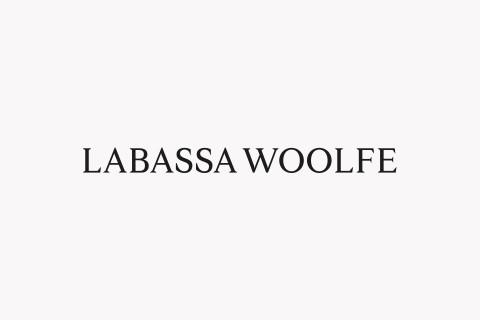 Labassa Woolfe Identity, Logo, branding