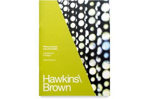 Hawkins Brown Architects, Brochure, Mike Bone Design