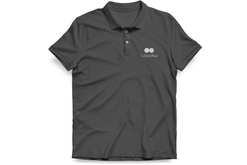 Twisted Pear Workwear, T-shirts, Polo shirts, Mike Bone Design