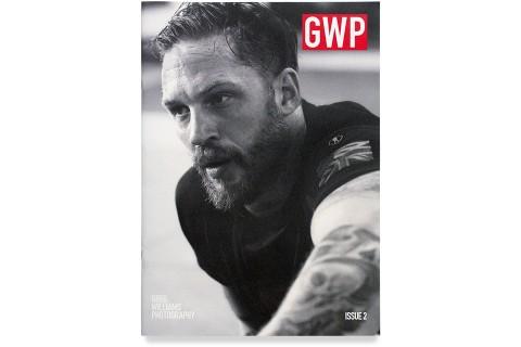 Greg Williams, GWP News Issue 2, Tom Hardy, Magazine Cover. Mike Bone Design, Mike Bone