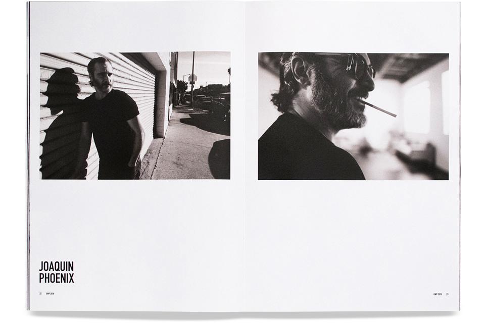 Greg Williams, GWP News Issue 3, Joaquin Phoenix, Mike Bone Design, Mike Bone