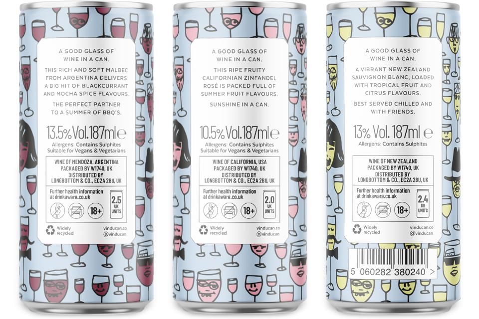 Vin Du Can, Red, Rose, White, Longbottom, Mike Bone Design