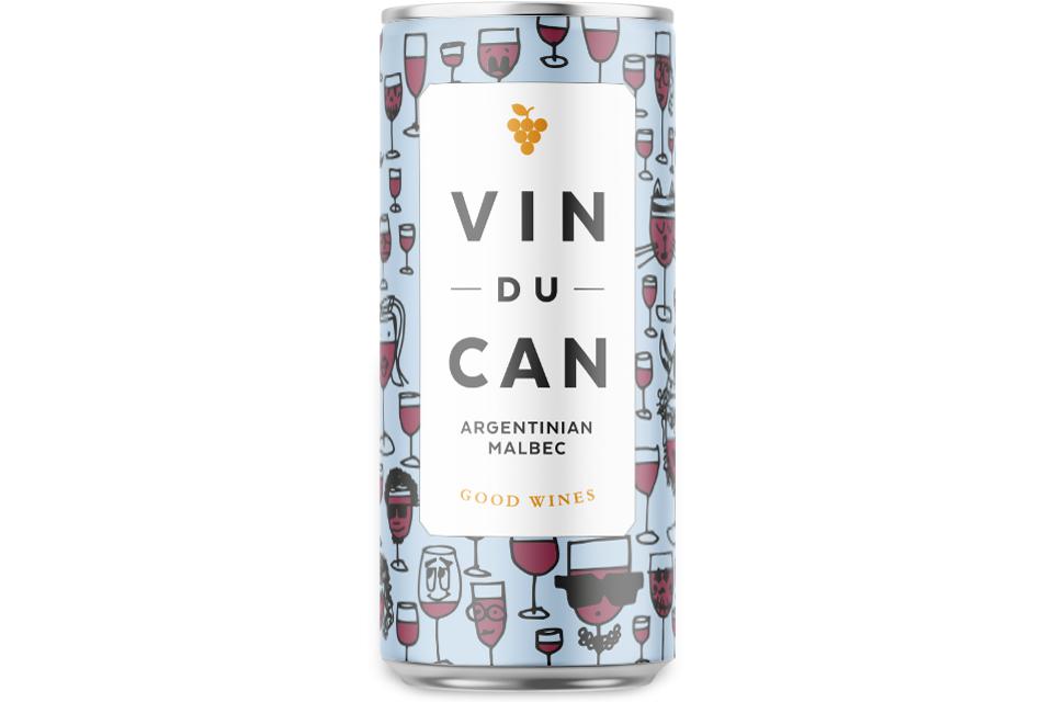 Vin Du Can, Red, Longbottom, Mike Bone Design