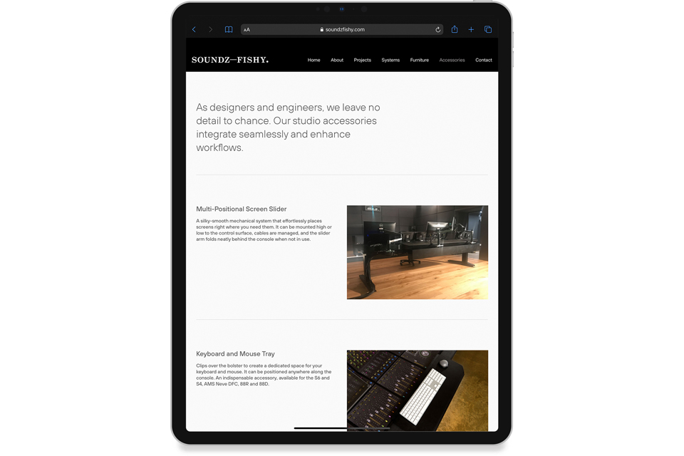 Soundz Fishy Website
